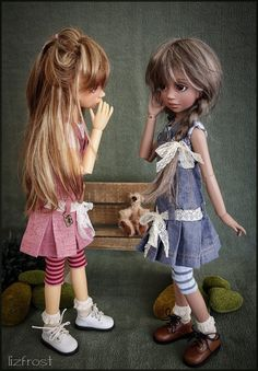 Maddison and Ruby MSD BJD by Liz Frost