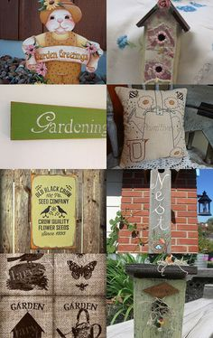 Time to Garden  OFG by Lois Ling on Etsy--Pinned with TreasuryPin.com