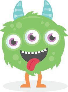 free cute monster clip art blue monster clip art image blue rh pinterest com cute monster clipart cute monster clip art free