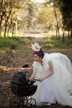 Styling and set design by RabbitHole Creatives Girls Dresses, Flower Girl Dresses, Maternity, Photoshoot, Set Design, Wedding Dresses, Creative, Live, Style