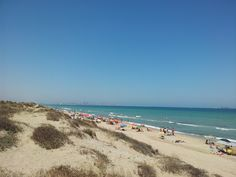 playa El Saler. Más info: http://lamejorplaya.es/guia/playa-de-el-saler/
