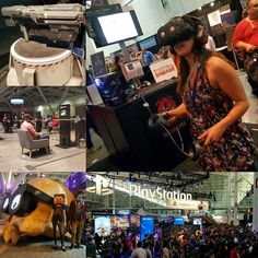 2016 is the year of Virtual Reality. Robyn and I got to try some fun games still in development. Looking forward to seeing what people can do with VR in the future and not just with gaming. #gaming #htcvive #oculus #playstationvr #thefutureisnow #PAX #east #boston #beantown #gamer #convention #sony #htc #samsung #google #virtualreality by the_emillz - Shop VR at VirtualRealityDen.com