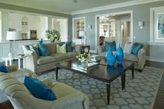 Fairhope Avenue Residence - transitional - living room - minneapolis - Martha O'Hara Interiors