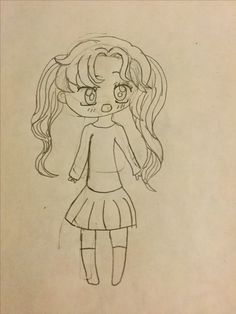 Here is my sister in kawaii/chibis