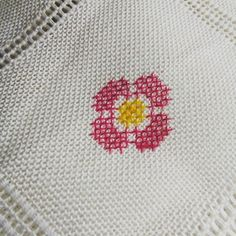 Little flower for women's day.Happy Women's day! #sretanosmimart #sretan8mart #happywomensday #flowers #crossstitch #sarajevo #bosniaandherzegovina #bosanka #cvijeće #danzena