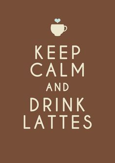 drink lattes
