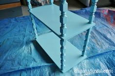 Before and After Painted Dining Room Furniture | Here are a couple AFTER photos. Isn't it cute? It's DIY Inspired ...