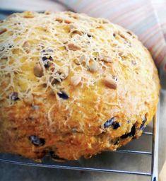 Gyors sütőtökös, parmezános cipó Naan, Paleo, International Recipes, Food And Drink, Bread, Brot, Beach Wrap, Baking, Breads