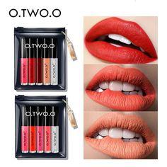 Makeup Precise Hot Selling Creative Lamp Make Up Lipstick 8 Colors Cosmetics Lipstick Waterproof Makeup Long Lasting Liquid Lipstick