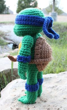 (4) Name: 'Crocheting : Teenage Mutant Ninja Turtle