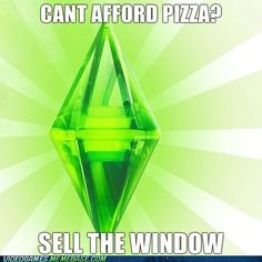 Funny pictures about The Sims Logic. Oh, and cool pics about The Sims Logic. Also, The Sims Logic photos. The Sims, Sims 3, Sims Memes, Funny Memes, Sims Humor, Funny Quotes, True Memes, High Five, Lol