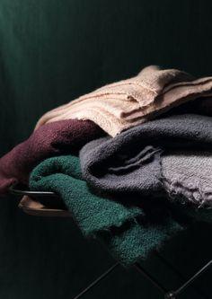 colour scheme with heather and purple Society Limonta | paco throw www.societylimonta.com