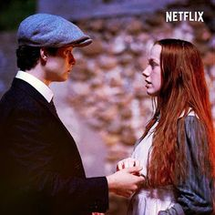 Anne and Gilbert, Anne with an e Gilbert Blythe, Anne Shirley, Jonathan Crombie, Gilbert And Anne, Anne White, Amybeth Mcnulty, Anne With An E, Cuthbert, Kindred Spirits