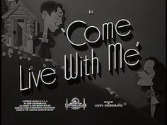 Come Live with Me- James Stewart & Hedy Lamar 1941