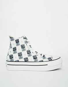 Converse All Star Warhol Tomato Soup High Top Trainers