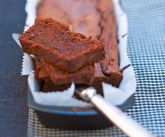 Recette gourmande du chef Cyril Lignac : cake au chocolat
