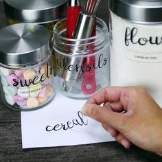 Tape transfer easily lets you create custom labels to keep you organized. from Crafty - Download Facebook Videos