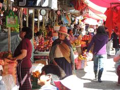 Marketplace in Cochabamba, Bolivia