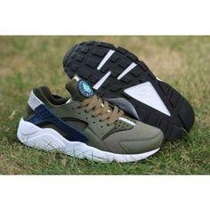 uk availability ac74f fb147 Nike Air Huarache Run Homme Chaussures Kaki Profond Bleu - €234.00    Chaussures Nike Air Max Pas Cher Solde   Nike Free Run   Nike Air Jordan  Femme - Site ...