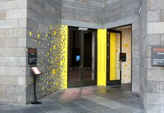 Environmental wayfinding graphics for the new contemporary art space at the National Art Gallery of Victoria, Australia