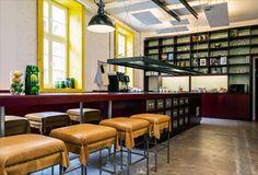 Hotel Superbude II, un hostal de diseño en Hamburgo, Alemania