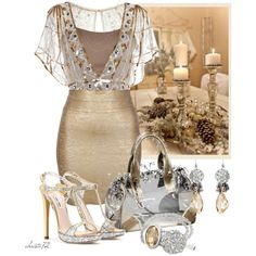 Gold Goddess, created by christa72 on Polyvore