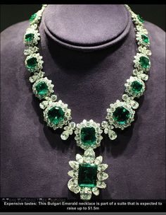 Elizabeth Taylor's Jewelry that went up for Auction  at Christie's