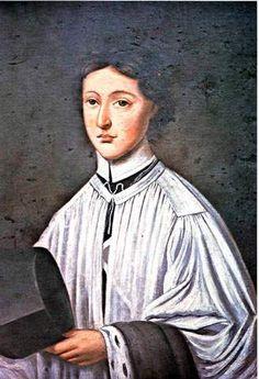 St. John Baptist de La Salle as a canon.