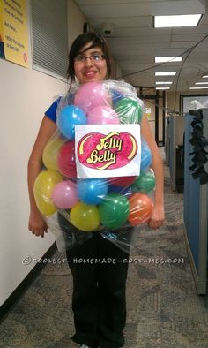 The Very Best Last-Minute Costume Idea: Bag of Jelly Beans!... This website is the Pinterest of costumes