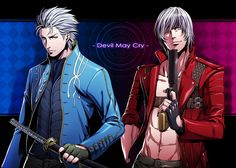 Devil May Cry - Vergil and Dante