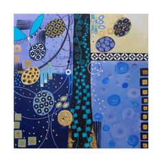 Trademark Fine Art 'Champagne Wishes And Caviar Dreams' Canvas Art by Lynn Hughes, Size: 18 x 18, Black
