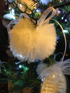 Dettagli dell'albero di Natale usato come tableau