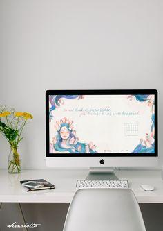 Fevereiro: o mês das possibilidades + wallpaper - Sernaiotto