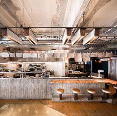 Bar FURCO par Zébulon Perron, Montréal, Québec. Photo : Stéphane Groleau. Source : Design Montréal.