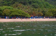 Zona de descanso en playa Cristal. www.magictourcolombia.com