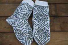 Stjernemønstrede sokker