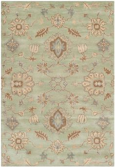 WYD202A Rug from Wyndham collection.  Safavieh's artistry is vividly displayed in the Wyndham collection with designs ranging from contemporary florals to traditional global motifs. Each richly-hued rug is hand-tufted by master weavers in India of top quality wool. Several designs recreate the one-of-a-kind look of fashionable over-dyed antique rugs using a special multi-colored yarn that is meticulously colored using ages-old pot dyeing techniques. After the dye is carefully applied to…
