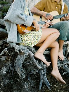 Musical Engagement Session in Big Sur - Once Wed