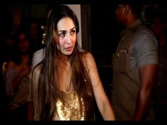 Salman Khan's sister in law Malaika Arora at Baba Dewan's birthday party.
