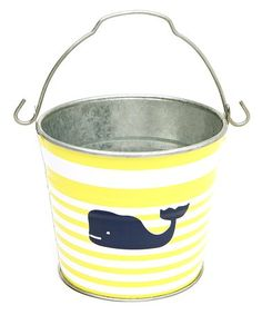 Another great find on Oh Buoy Citron Whale Midi Bucket by The Macbeth Collection
