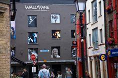 Temple Barin korttelista löytyy Dublinin Wall of Fame. Kuva: William Murphy, flickr.com, CC BY-SA 2.0.