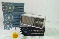 Vintage AirEquipt Automatic Metal Slide Magazines by DivineOrders, $12.00