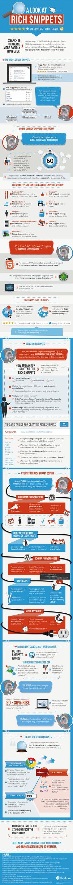 El Contenido Enriquecido o Rich Snippets: una guía práctica en infografía