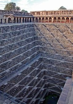 Deepest stepwell in the world. Rajasthan India