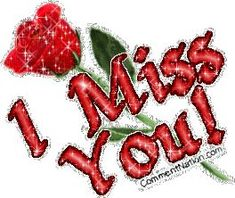 Miss You Red Glittered Rose Miss U Love, Missing You Love, Miss My Mom, Love You Gif, Miss You Too, Love Heart Images, I Love You Pictures, Beautiful Love Pictures, I Miss You Quotes For Him