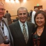 At the West Coast Hall of Fame Induction with fans in Napa Ca. Derrike Cope, Napa Ca, West Coast