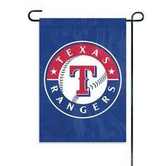 Texas Rangers Decorative Mini Garden Flag