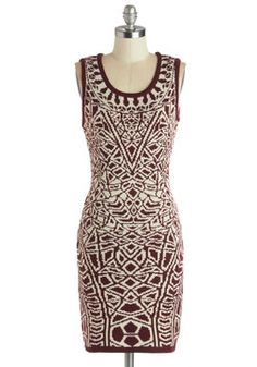 Up Close and Personality Dress, #ModCloth