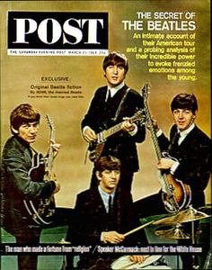 The Beatles, 'Saturday Evening Post' cover, 21 March 1964.