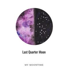 Last Quarter Moon - What are you reflecting on right now, and what are you looking ahead at? The last quarter moon is all about expression of the cycle's idea etc is over. Feeling a hint of the future and the result of this cycle.